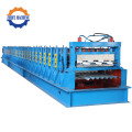 Jentera Lantai Metal Hidraulik Decker Cold Roll Forming Machinery
