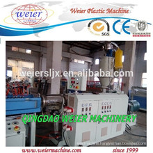 Plastic PP PE PVC PA corrugated pipe plant machinery