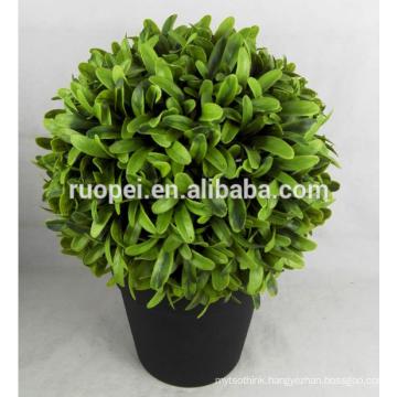 bonsai tree plant / artificial grass ball tree