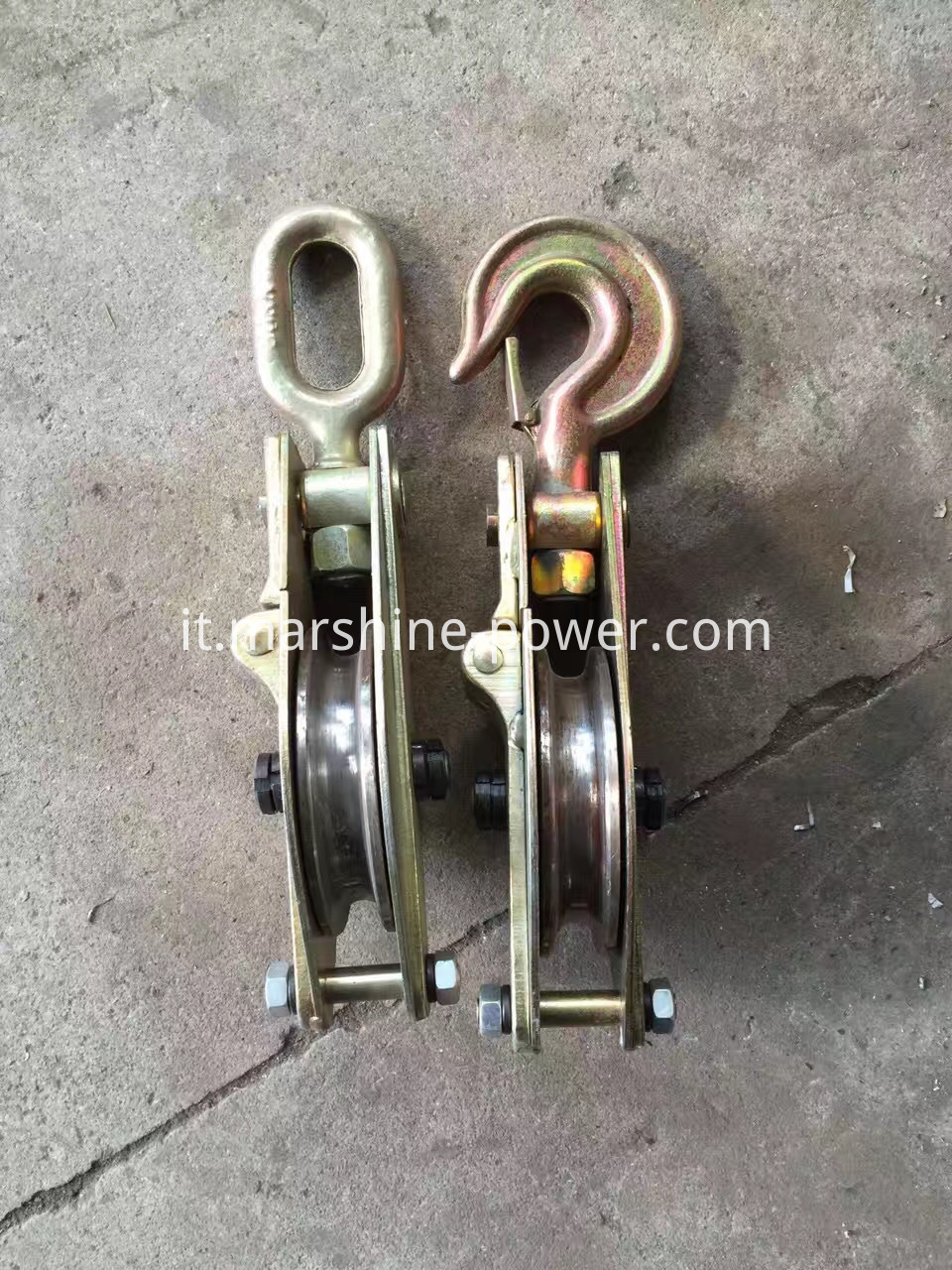 Snatch Block Pulley