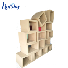 mobília impressa costume da exposição dos artigos de papelaria projeto novo recicl