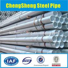Tuyau en carbone sans soudure, tuyau en acier à paroi épaisse, surface galvanisée
