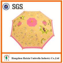Professionelle Auto Open süß drucken Belgien Kinder Regenschirm