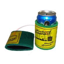 Refrigerador de lata de cerveza de neopreno promocional, titular de lata impresa (BC0042)
