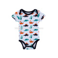 Newborn Baby Boy Bodysuit Toddlers Outfit Printed Animal Baby Romper
