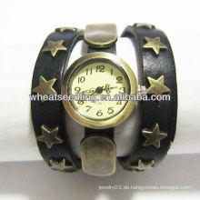 Neue Herren Riemen Uhren Damen Modeuhr Ledergürtel Uhr
