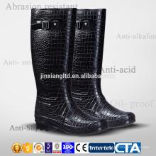 Высокое качество ПВХ и TPR водонепроницаемые сапоги моды