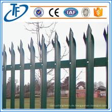 Standard Security Palisade Zaun zum Verkauf Made in China