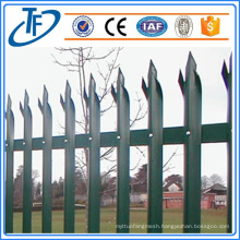Standard Security Palisade Fence Used for Sale Made in China