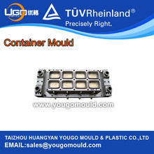 8 Cavity Container Mould
