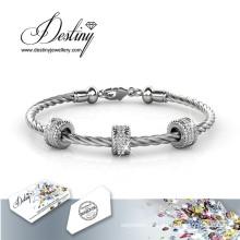 Destin bijoux cristaux de Swarovski ronde Bracelet