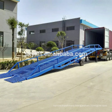 3-15t Loading yard ramp,container ramp for forklift