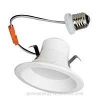 ETL energy star dimmable 4 inch 6 inch 14w 18w led recessed down light