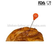 100% Nahrungsmittelgrad-haltbarer Silikon-Kuchen-Prüfvorrichtung
