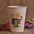 Logotipo personalizado Copa de papel impreso