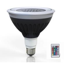 LED imperméable LED PAR38 lampe RGB pour application extérieure