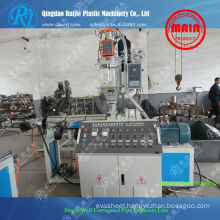 Steel Reinforced Spiral HDPE Plastic pipe extruders