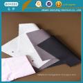 100% coton col chemise interlignage sans revêtement