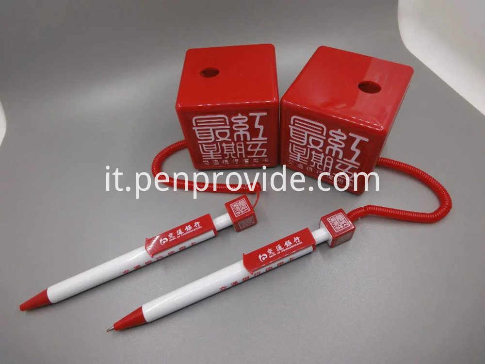 Cube Shape Table Pen