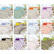 Printed Chinese Style Fabric Quilted Bedspread