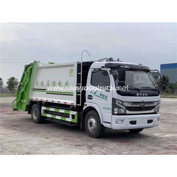 4x2 Pure electric compressed garbage truck