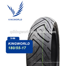China big size motorcycle tires with high speed 180/55-17