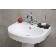 Mélangeur de cuvette en laiton massif et robinet de lavabo