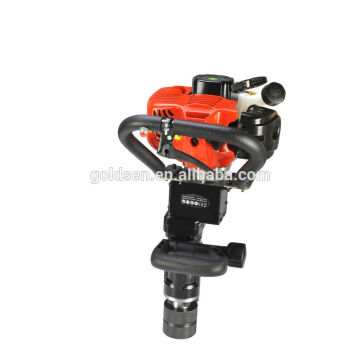 50mm 55mm 70mm Portable Petrol Pile Driving Machine Mini Gas Powered Manual Post Driver
