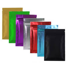 Aluminium zipper plastic bag for food storage