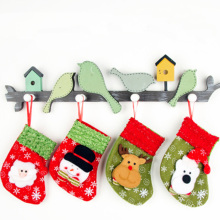 christmas home decoration supplies red large christmas tree stockings for embroidery