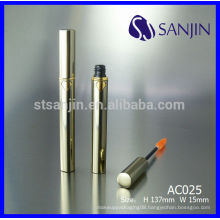 empty aluminum cosmetic tube