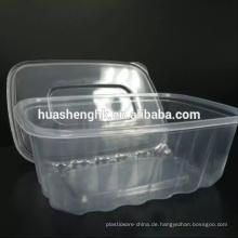 Einweg-Plastiknahrungsmittelbehälter 1000ml mikrowellenfest