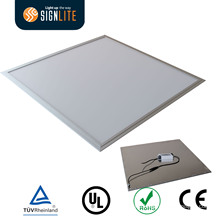 Ultrathin Slim Panel Light 36W 80lm/W 8.8mm Thick 600*600mm SMD 5730 LEDs Warm White
