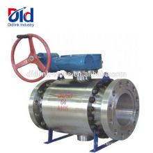 Robinetterie à boisseau sphérique à haute pression en acier forgé A105 à 2 dimensions pour Grainger 10