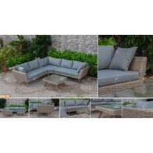 CANARY COLLECTION - Newest trendy 2017 Poly PE Rattan Sofa set for Outdoor Garden Furniture
