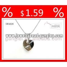 Pingente prata colar da jóia