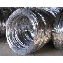 Bright galvanized steel wire