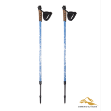Wholesale Price for Alpenstock Trekking 85-140cm Anti-Shock Walking Stick export to Macedonia Suppliers