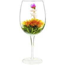 Jin Zhan Mo Li Mei Gui Aartistische Marigold Jasmin Rosen Blühende Blumen Tees
