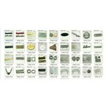 Оптовые продажи для пользовательских этикетки металла логотип бренда в мешок обуви