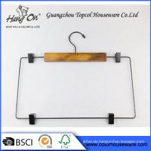 Hose aus Holz Kleiderbügel mit clips
