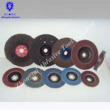 Korundschliffscheibe und Dish Shape Flap Disc