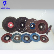Corundum Abrasive and Dish Shape flap disc