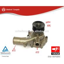 Yuchai peças de motor diesel D32-1307020C bomba de água para YC4D