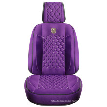 Car Seat Cover 3D Universal Shape with Viscose Fabric Purple