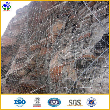 High Tensile Strength Rockfall Netting (HPPM-0807)