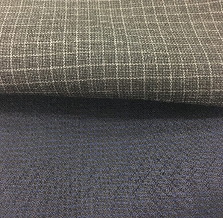small pattern style wool fabric