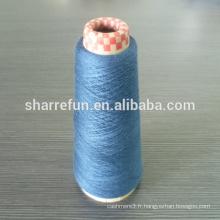 40nm-80nm laine peignée de cachemire, 100% pure laine peignée pour le chandail de rotation chaussette shawel