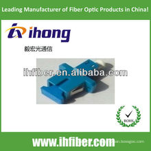 LC-SC Adaptador híbrido de fibra óptica simplex