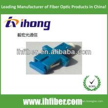 Adaptador híbrido de fibra óptica LC-SC simplex